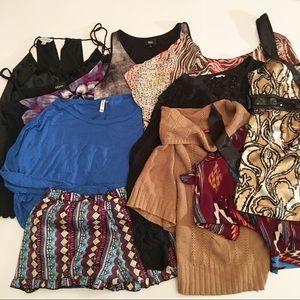 Clothing lot/bundle, summer, winter, medium, mix